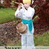{No Sew} Snake Charmer Costume, How to