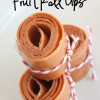Easy Homemade  Fruit Roll Up's