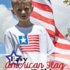 Easy American Flag T- Shirt