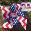 Patriotic Pinwheel Hair clip or pin