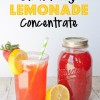 Homemade Restaurant Style Strawberry Lemonade Concentrate