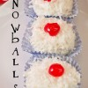 Let it Snow...Snowballs Recipe and Blog Hop