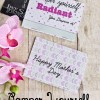 Mother's Day Gift Card Printable + {Be Radiant} Blog hop