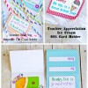 Free Teacher Appreciation Gift Card Printables