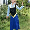 Easy DIY Anna Dress from Frozen