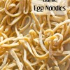 Homemade Garlic Egg Noodles {Recipe}