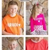 DIY Kids Valentine Shirts with my Silhouette Cameo