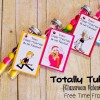Totally Tubular {Classroom Valentine}