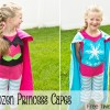 Frozen Princess capes
