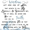 James 1:5-6 2017 LDS Youth Theme Printable