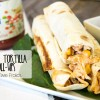 Chicken Salsa Tortilla Organic Roll-ups