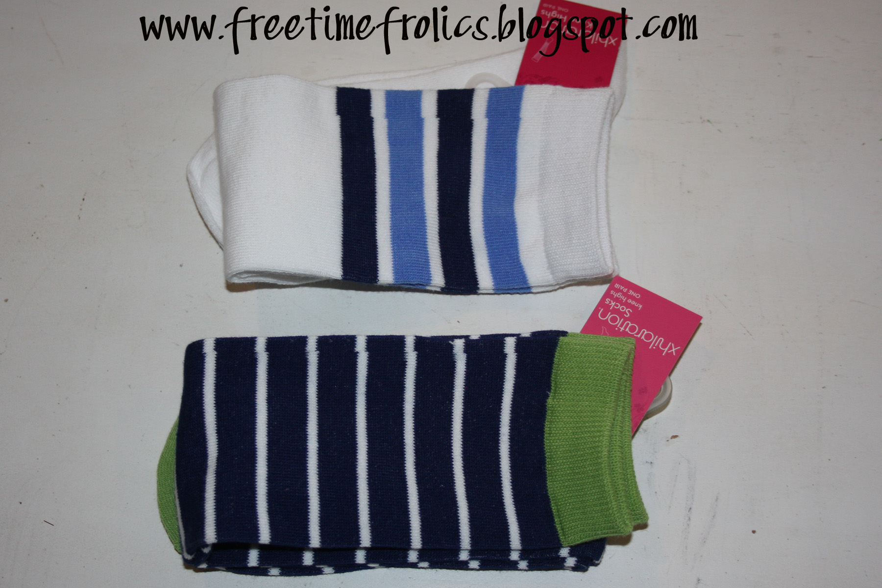 Knee High socks www.freetimefrolics.com