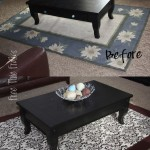 Rug Slip Cover Makeover