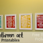 Bathroom {Art} Printables