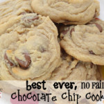 Best Ever, No Fail Chocolate Chip Cookies