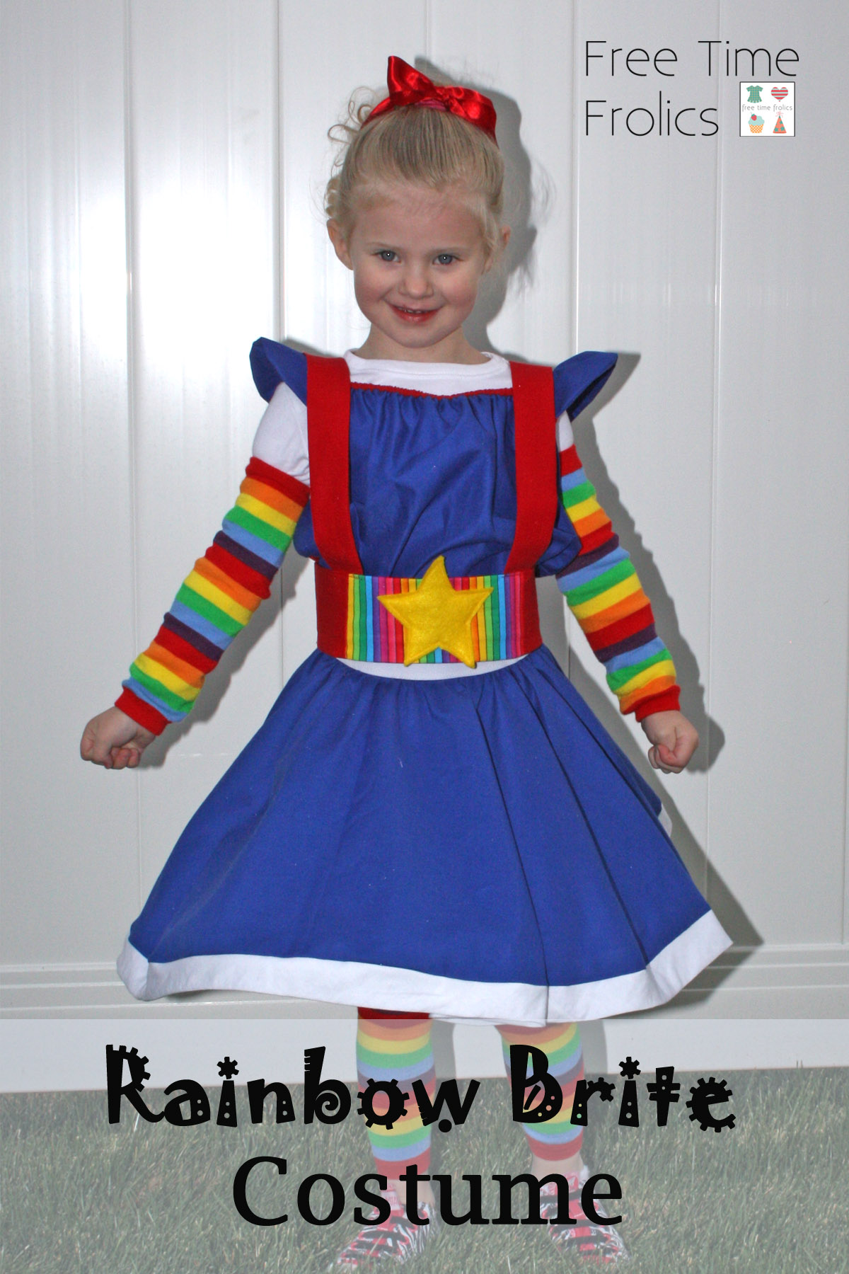 sc 1 st  Free Time Frolics : toddler rainbow brite costume  - Germanpascual.Com
