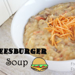 Cheeseburger Soup {Recipe}