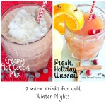 Hot Drinks on Cold Winter Nights: Hot chocolate & Wassail Recipes