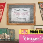 Modge Podge Photo Transfer {Vintage Sign}