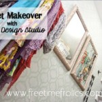 Royal Design Studio Stencil Review & Closet Makeover