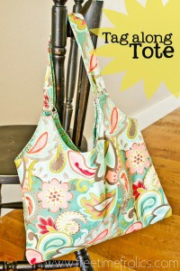 Tag Along Tote Bag Tutorial + Giveaway