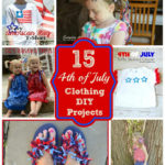 What to wear!! {Fourth of July} 15+ Diy Clothing Projects