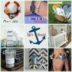Nautical Bracelets + Life's a Beach Round Up