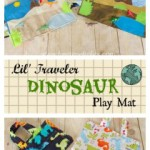 Dinosaur Quiet Time Playmat