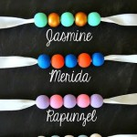 Princess Bead Necklaces {Steph from Crafting in the Rain}