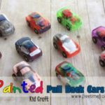 Painted Pull Back Cars {Kid Craft}