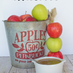 Maple & Brown Sugar Applesauce {Blender Style}