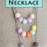 Fimo Clay Bead Necklace