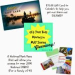 Cabela's gift card & National park pass giveaway!