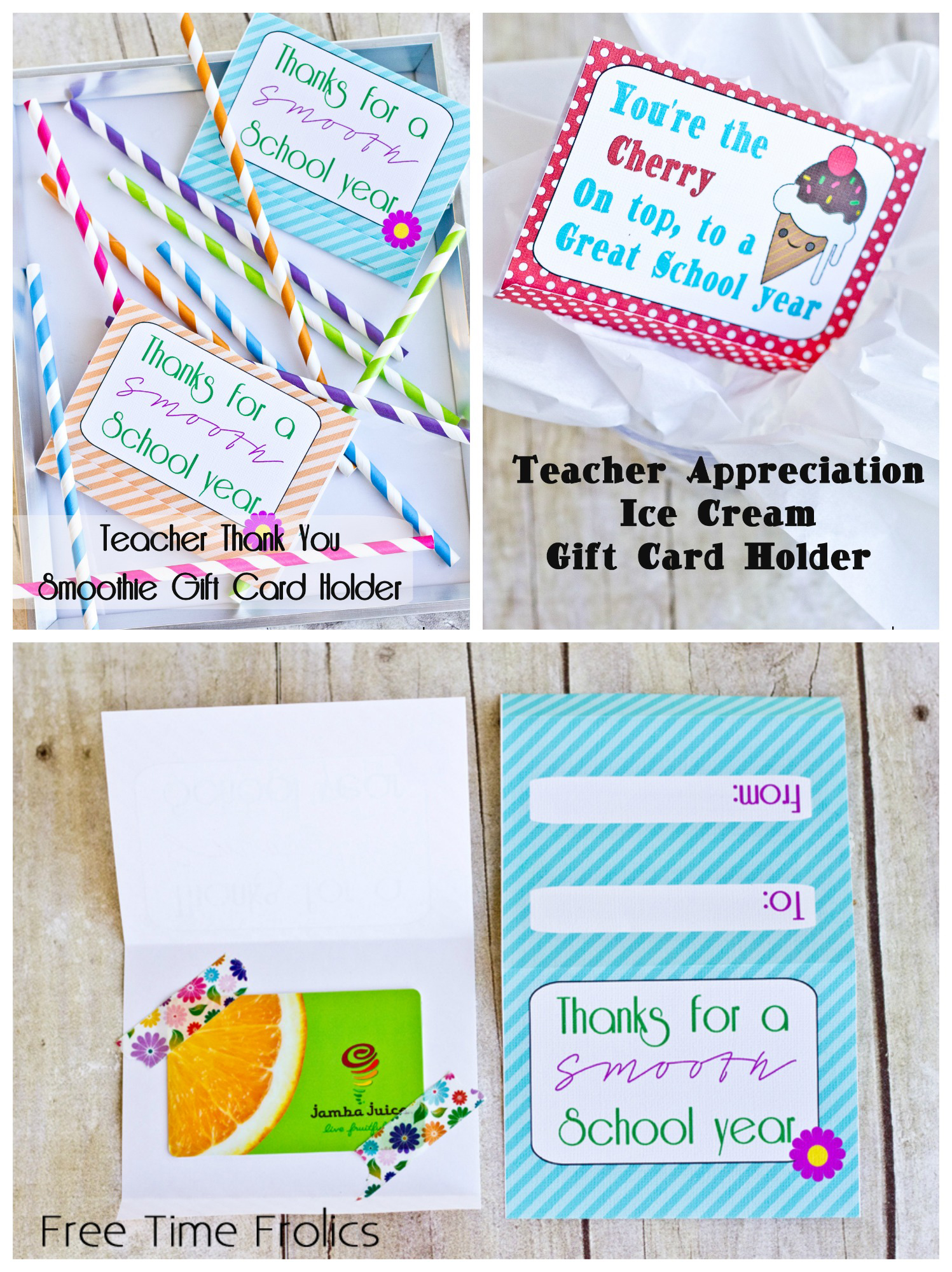 picture regarding Teacher Appreciation Card Printable known as Absolutely free Instructor Appreciation Reward Card Printables - Totally free Season