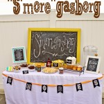 "How to throw a ""S'More""gasbord Party"