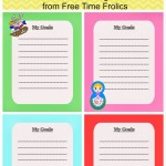 Goal Setting for Kids {Free Printable}