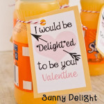 I'd be Delighted to be your Valentine {Classroom Valentine}