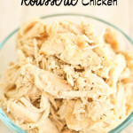 Best Crock pot Rotisserie Chicken you have ever eaten!