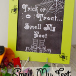 Trick or Treat..Smell my Feet Free Printable