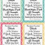 2015 LDS Youth Theme Printable