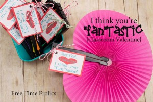 Stay Cool Valentine…  You're Fantastic {Classroom Valentines}