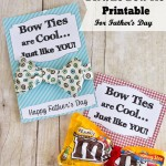 Dr. Who Bow Tie, Father's Day Printable