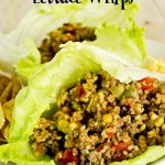 Healthy Mexican Lettuce Wraps