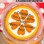 Orange you glad, Valentine Printable