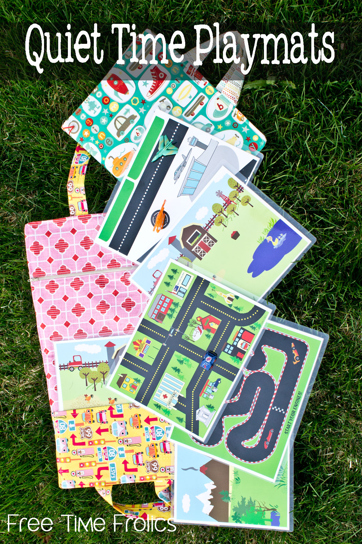 Printable Quiet Time Play Mats Free For Kids