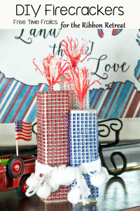 DIY Sparkly Firecrackers