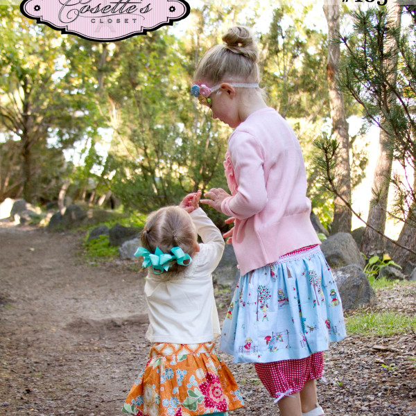 Bloomin' Skirt sewing pattern Cosette's Closet