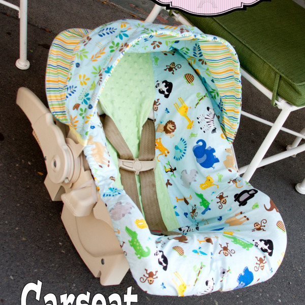 Car seat pattern tutorial Cosette's Closet