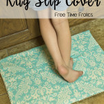 Simple No-Slip Rug Cover