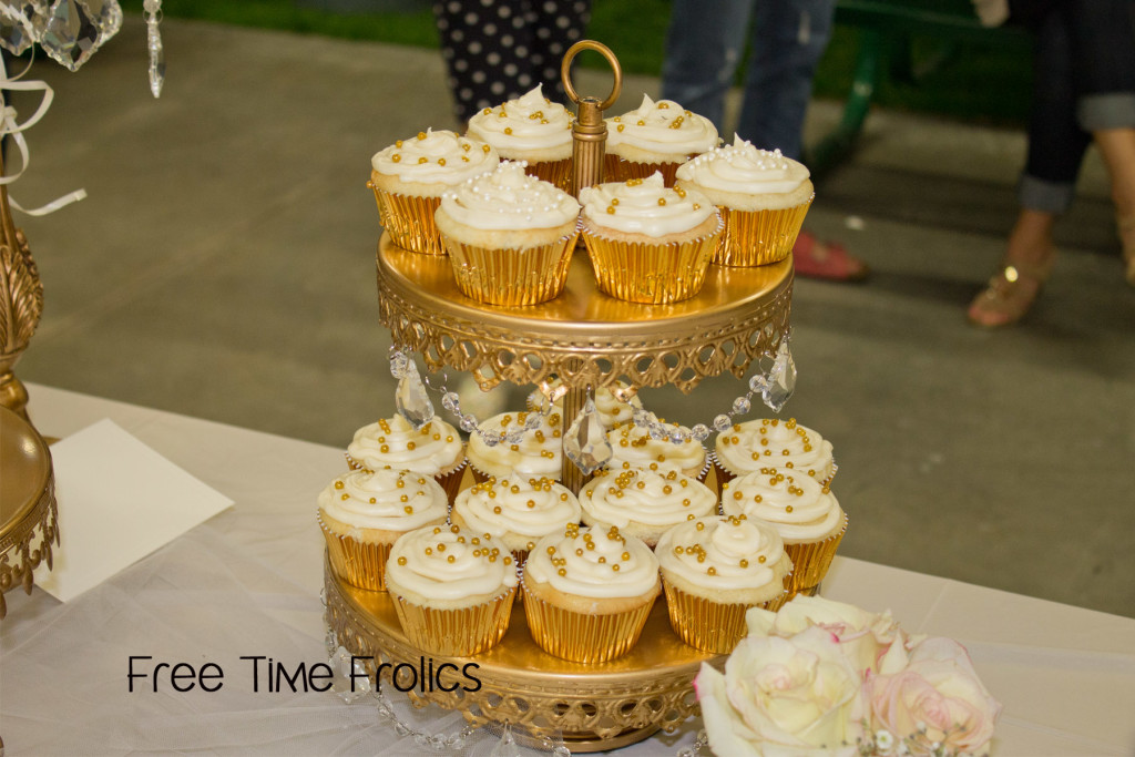 young women in excellence cupcakes